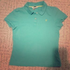 Lilly Pulitzer girls short sleeve polo